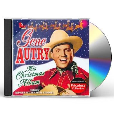 Gene Autry His Christmas Album CD