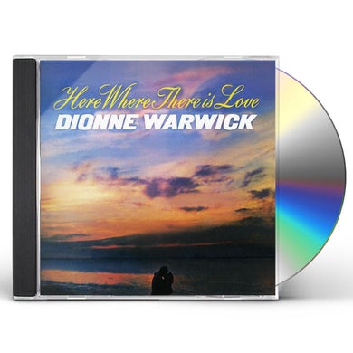 Dionne Warwick HERE WHERE THERE IS LOVE CD