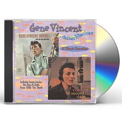 ROCKS & BLUECAPS ROLL / GENE VINCENT RECORD DATE CD
