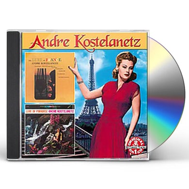 Andre Kostelanetz LURE OF FRANCE: LURE OF PARADISE CD