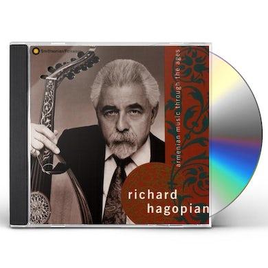 Richard Hagopian ARMENIAN MUSIC THROUGH THE AGES CD