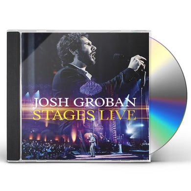 Josh Groban STAGES LIVE CD