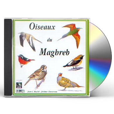 Sounds of Nature BIRDS OF NORTH-WEST AFRICA CD