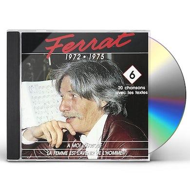VOL. 6-JEAN FERRAT 1972-75 CD