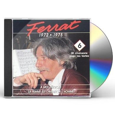 Jean Ferrat MOI L'AFRIQUE 6 CD