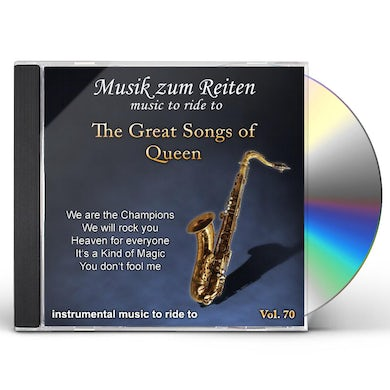 Richard Rossbach GREAT SONGS OF QUEEN CD