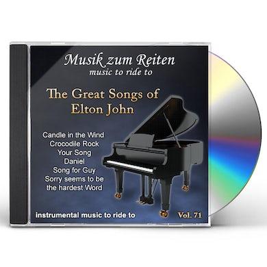 Richard Rossbach GREAT SONGS OF ELTON JOHN CD