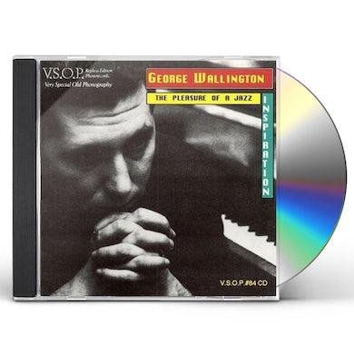 George Wallington PLEASURE OF A JAZZ INSPIRATION CD