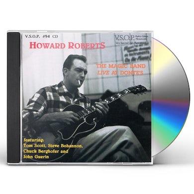 Howard Roberts MAGIC BAND LIVE AT DONTES CD