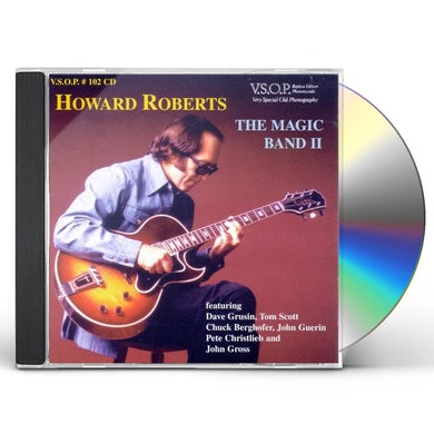 Howard Roberts MAGIC BAND LIVE AT DONTES PART 2 CD