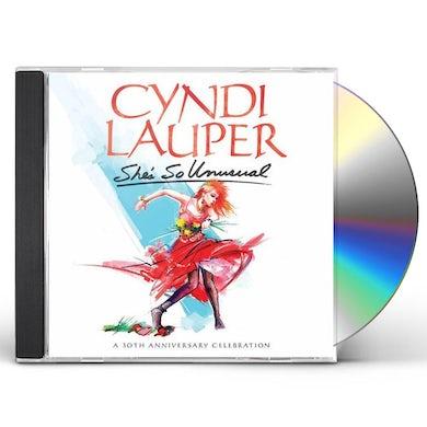 Cyndi Lauper SHE'S SO UNUSUAL 30TH ANNIVERSARY EDITION CD