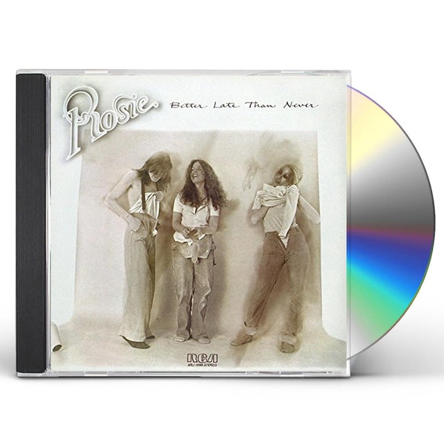 Rosie BETTER LATE THAN NEVER CD