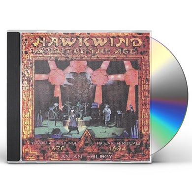 Hawkwind SPIRIT OF ASIA: ANTHOLOGY CD