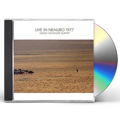 Sadao Watanabe QUINTET LIVE IN NEMURO 1977 CD