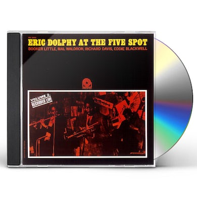 Eric Dolphy VOL. 2 AT THE FIVE SPOT CD