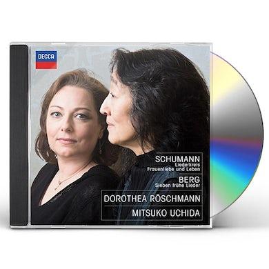 SCHUMANN: LIEDERKREIS / FRAUENLIEBE / BERG: 7 FRUHE CD