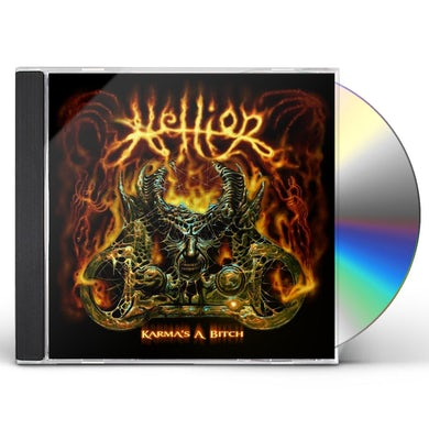 Hellion KARMA'S A BITCH CD