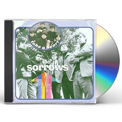 Sorrows TAKE A HEART PLUS THE PYE A & B SIDES & MORE CD