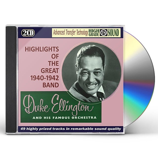 Duke Ellington HIGHLIGHTS OF THE GREAT 1940-1942 CD