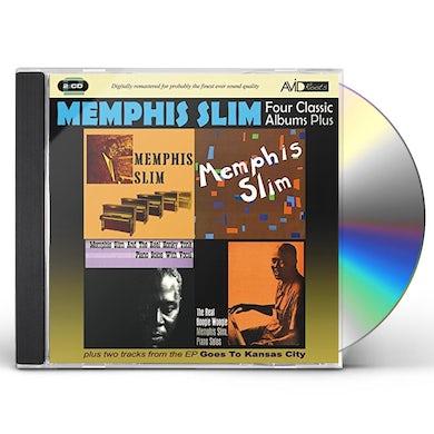 Slim Memphis  MEMPHIS SLIM / MORE MEMPHIS SLIM CD