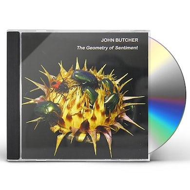 John Butcher GEOMETRY OF SENTIMENT CD