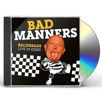 Bad Manners BALDHEADS LIVE IN ESSEX CD