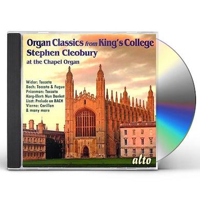 Stephen Cleobury ORGAN CLASSICS FROM KING'S COLLEGE CHAPEL CD