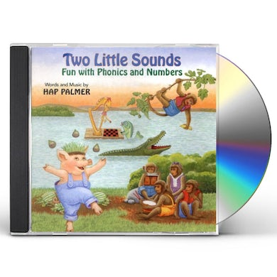 Hap Palmer TWO LITTLE SOUNDS: FUN WITH PHONICS AND NUMBERS CD