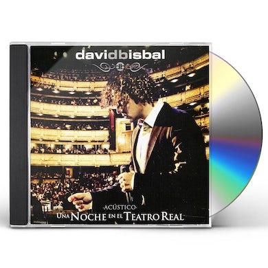 David Bisbal UNA NOCHE EN EL TEATRO REAL ( CD +DVD) CD