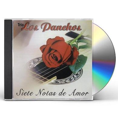 Trio Los Panchos SIETE NOTAS DE AMOR CD