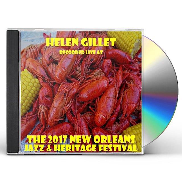 Helen Gillet LIVE AT JAZZFEST 2017 CD