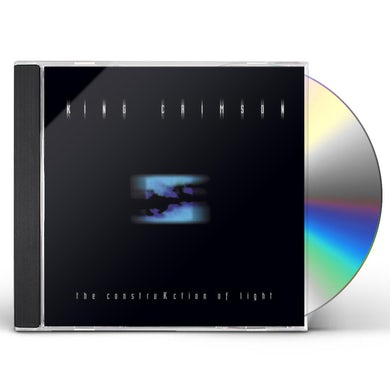 King Crimson CONSTRUCKTION OF LIGHT CD