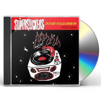 Supersuckers LIVE AT BART'S CD CELLAR & RECORD SHOP CD
