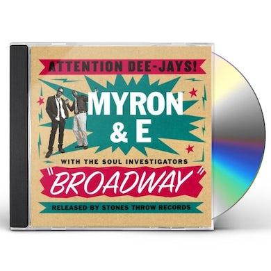 Myron & E BROADWAY CD