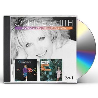 Connie Smith DOWNTOWN COUNTRY / CONNIE IN THE COUNTRY CD