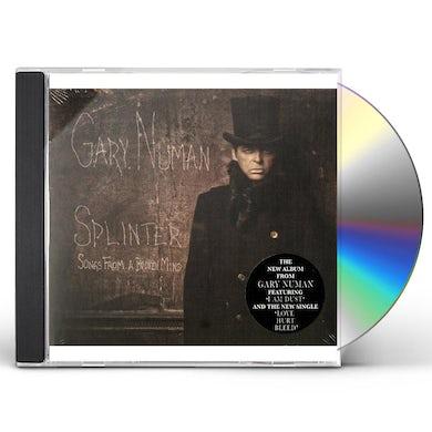 Gary Numan SPLINTER (SONGS FROM A BROKEN MIND) CD