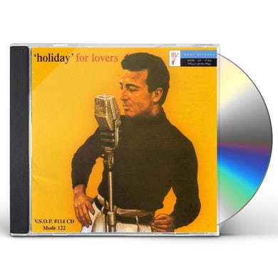Johnny Holiday HOLIDAY FOR LOVERS CD