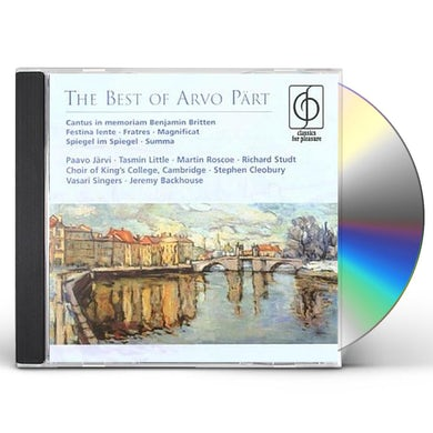 BEST OF ARVO PART CD