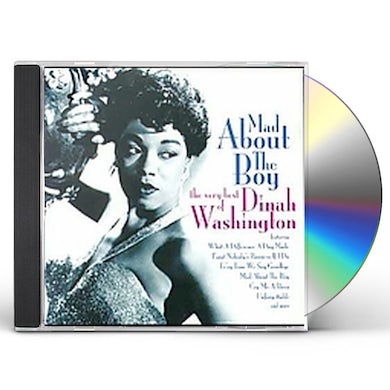 Dinah Washington MAD ABOUT THE BOY CD