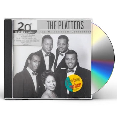 The Platters Millennium Collection - 20th Century Masters CD