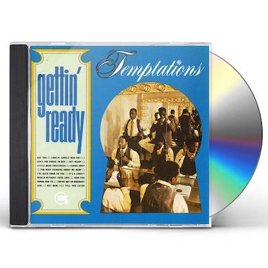 The Temptations GETTIN READY CD