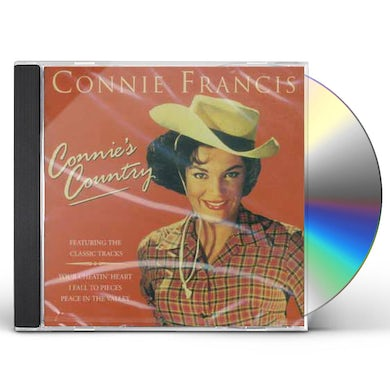 Connie Francis CONNIE'S COUNTRY CD