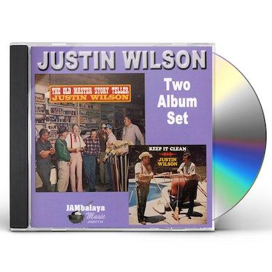 Justin Wilson OLD MASTER / KEEP IT CLEAN CD