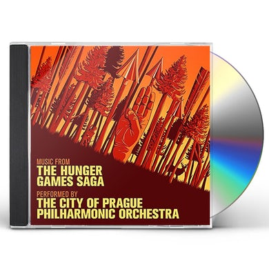 City Of Prague Philharmonic Orchestra MUSIC FROM THE HUNGER GAMES SAGA CD