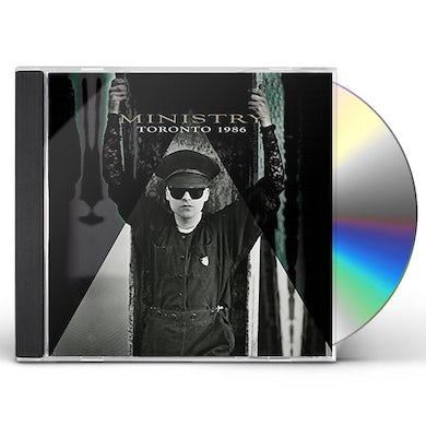 Ministry TORONTO 1986 CD