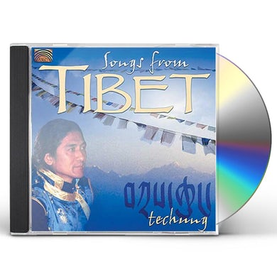Techung SONGS FROM TIBET CD