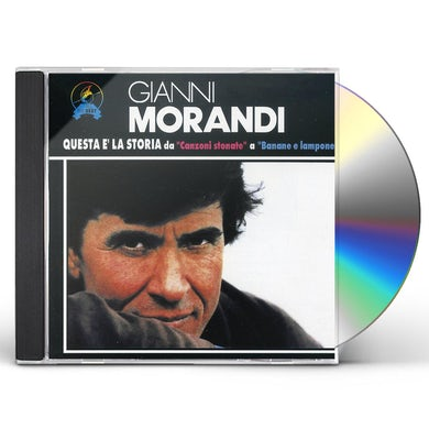 Gianni Morandi QUESTA E LA STORIA CD