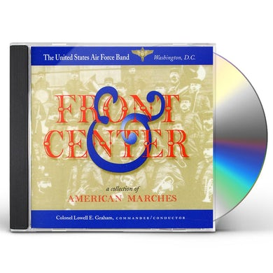 US Air Force Band FRONT & CENTER CD