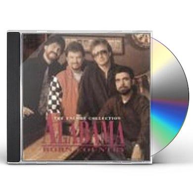 Alabama BORN COUNTRY CD