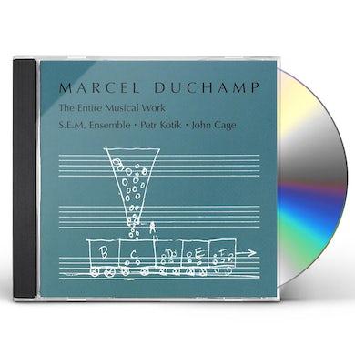 Marcel Duchamp ENTIRE MUSICAL WORK CD